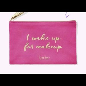 Set of two Tarte makeup bags
